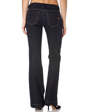 Miss Me Dark Denim Wide Leg Jeans