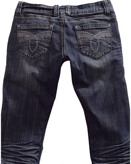 Tin Haul Women's Dolly Celebrity Deco Loop Stitch Bootcut Jeans