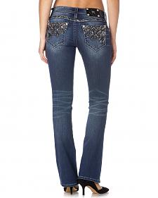 Miss Me Women's Flash & Sparkle Bootcut Jeans