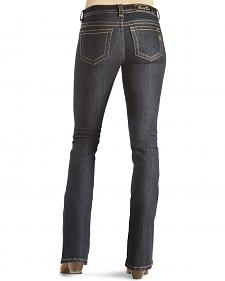 Miss Me Women's Fierce Blue Mid-Rise Bootcut Jeans
