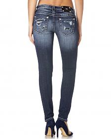 Miss Me Women's Sequins of Events Skinny Jeans
