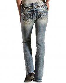 Miss Me Signature Fit Distressed Jeans - Boot Cut