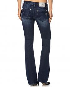 Miss Me Mid-Rise Embroidered Front Pocket Jeans - Boot Cut