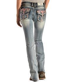 Grace in LA Southern Sweetheart Bootcut Jeans