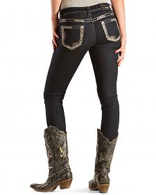 Grace in L.A. Women's Jeweled Skinny Jeans