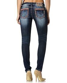Miss Me Fair Isle Mid-Rise Skinny Jeans