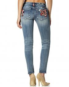 Miss Me Women's Sweet Rose Skinny Jeans