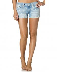Miss Me Daisy Denim Shorts