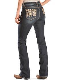 Grace in L.A. Women's Xochitl Easy Fit Bootcut Jeans