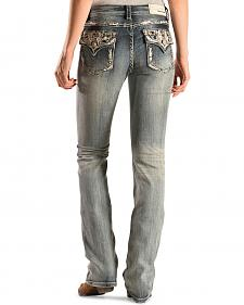 Grace in L.A. Women's Aztec Bootcut Jeans