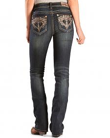 Grace in L.A. Women's Winona Easy Fit Bootcut Jeans