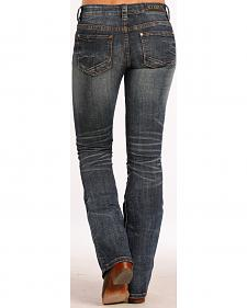 Rock and Roll Cowgirl Rival Simple Copper Jeans - Boot Cut