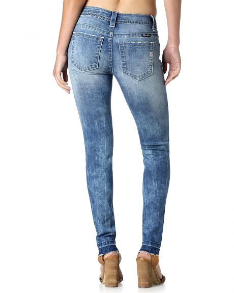 Miss Me Women's Pacific Party Mid-Rise Skinny Jeans