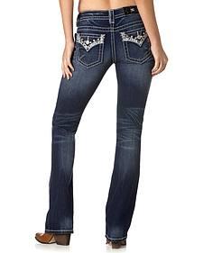 Miss Me Women's Ice Queen Bootcut Jeans