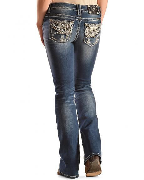 Miss Me Women's Angel No More Bootcut Jeans