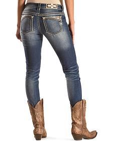 Miss Me Women's Running Wild Signature Skinny Jeans