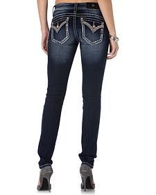 Miss Me Women's Glitzy Grapevine Skinny Jeans
