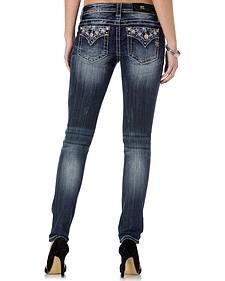 Miss Me Women's Vintage Starburst Skinny Jeans