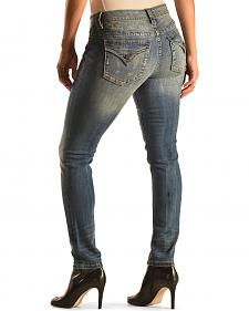 Miss Me Women's Simple Boundaries Skinny Jeans