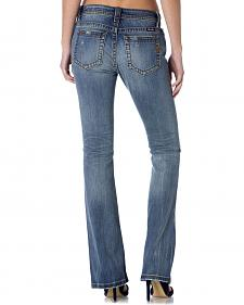 Miss Me Sandwashed Distressed Jeans - Bootcut