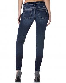 Miss Me Release Hem Destructed Skinny Jeans