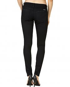 Miss Me Women's Black Mid-Rise Skinny Jeans - Extended Sizes