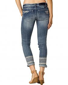 Miss Me Women's Indigo Signature Rise Jeans - Ankle Skinny