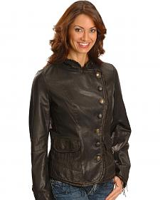 Scully Lambskin Leather Jacket