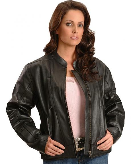 Milwaukee Motorcycle Sioux Falls Leather Jacket