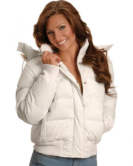 Ely Faux Fur Trimmed Hooded Jacket