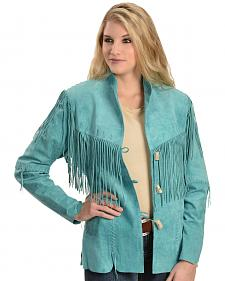 Scully Fringe Suede Leather Jacket