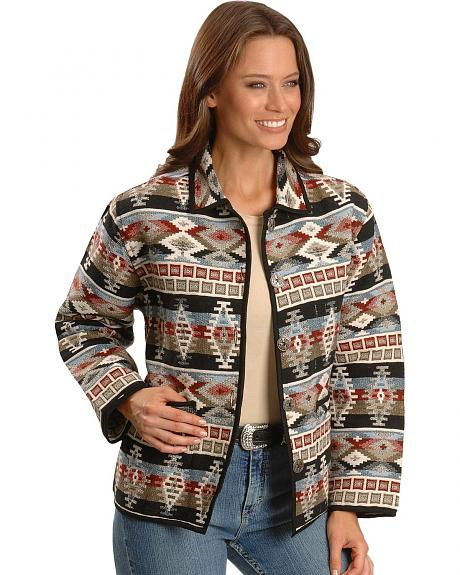Aztec Design Tapestry Jacket