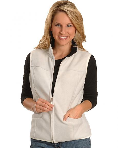 Zip Front Fleece Vest