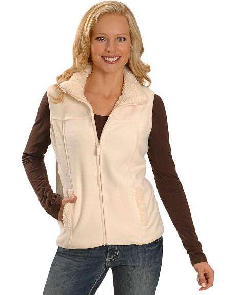 Sherpa Lined Fleece Vest