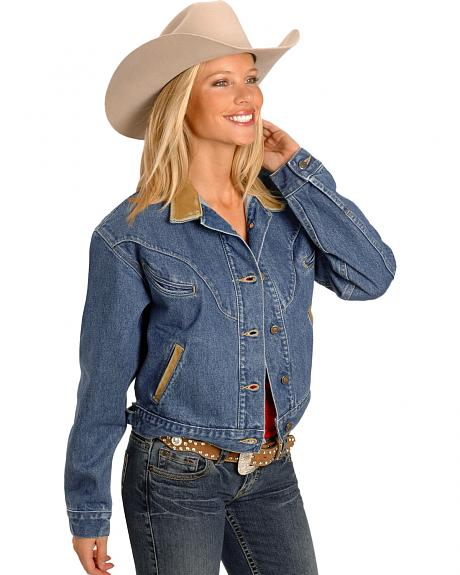 Schaefer Chisholm Denim Western Jacket