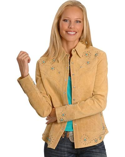 Scully Studded Leather Jacket Western & Country L233-19