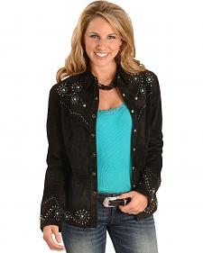 Scully Studded Leather Jacket