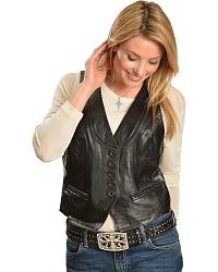 Scully Lamb Leather Vest at Sheplers