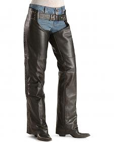 Milwaukee Studded Leather Motorcycle Chaps