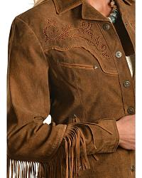 Cripple Creek Western Leather Jacket at Sheplers