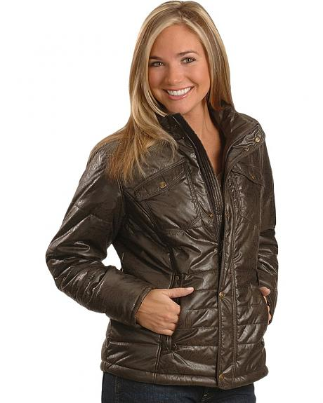 Ariat Embossed Polyfill Quilted Jacket
