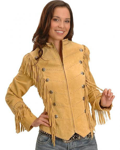 Scully Military Fringe Jacket