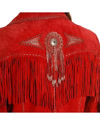 Scully Beaded Fringe Coat at Sheplers