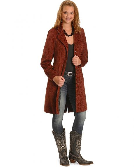 Scully Chenille Frock Coat