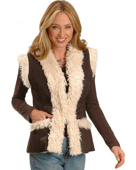 Cripple Creek Faux Fur Vest