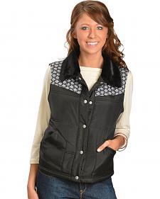 Jane Ashley Snowflake Yoke Vest