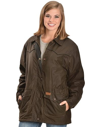Outback Trading Co. Oilskin Rancher Jacket Western & Country 2103 BRONZE