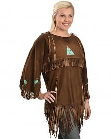 Kobler Leather Picachu Fringe Shirt