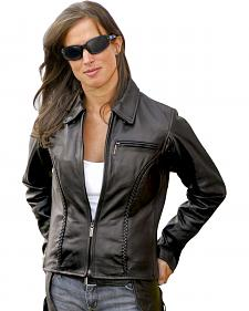 Milwaukee Motorcycle Electra Leather Jacket - Reg