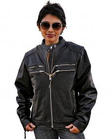 Interstate Leather Gangster Jacket - Reg